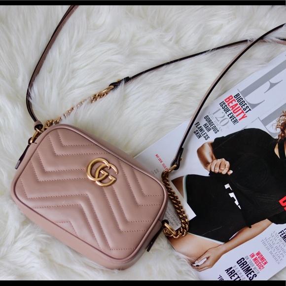 ad9c36bc09da47 Gucci Bags | Gg Marmont Matelass Mini Bag | Poshmark